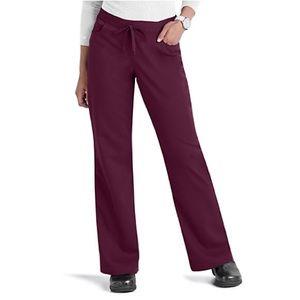"""Grey's Anatomy Pants - Grey's Anatomy// drawstring scrub pant/ """"wine"""" EUC"""